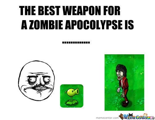 Lethal Weapon For Zombies