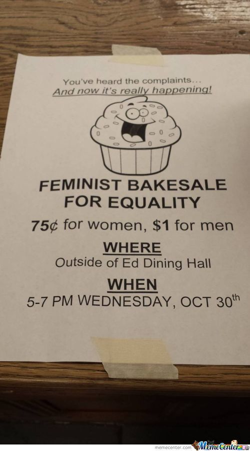 Lets Beat Female Stereotypes By Baking!