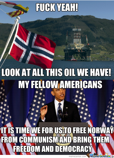Lets Invade Norway To Free Them From Torskätarna