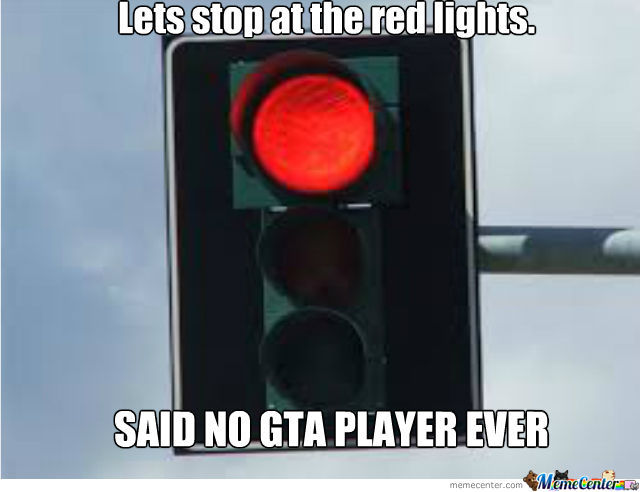 Lets Stop At The Red Lights