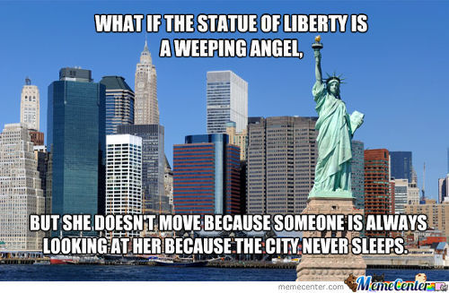 Liberty Weeping Angel
