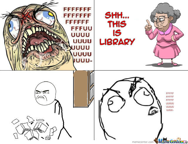 Library Rage