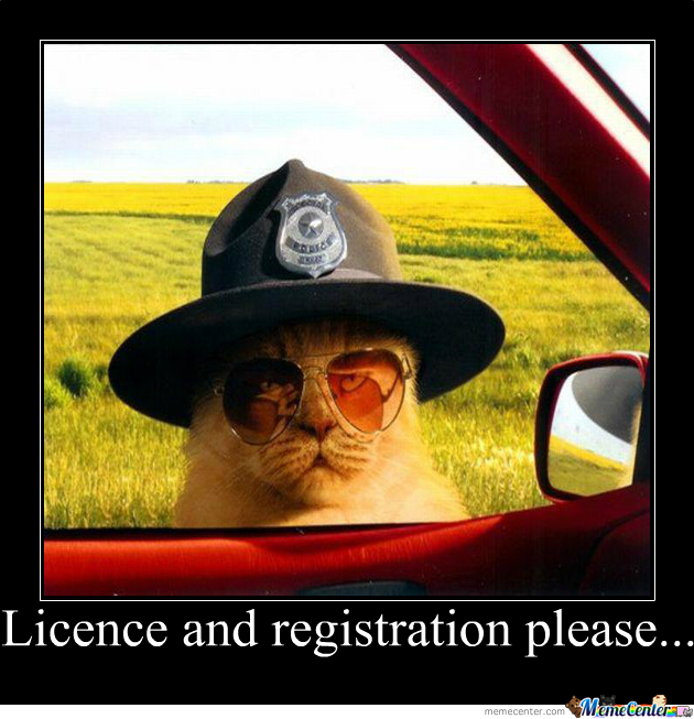 License And Registration...