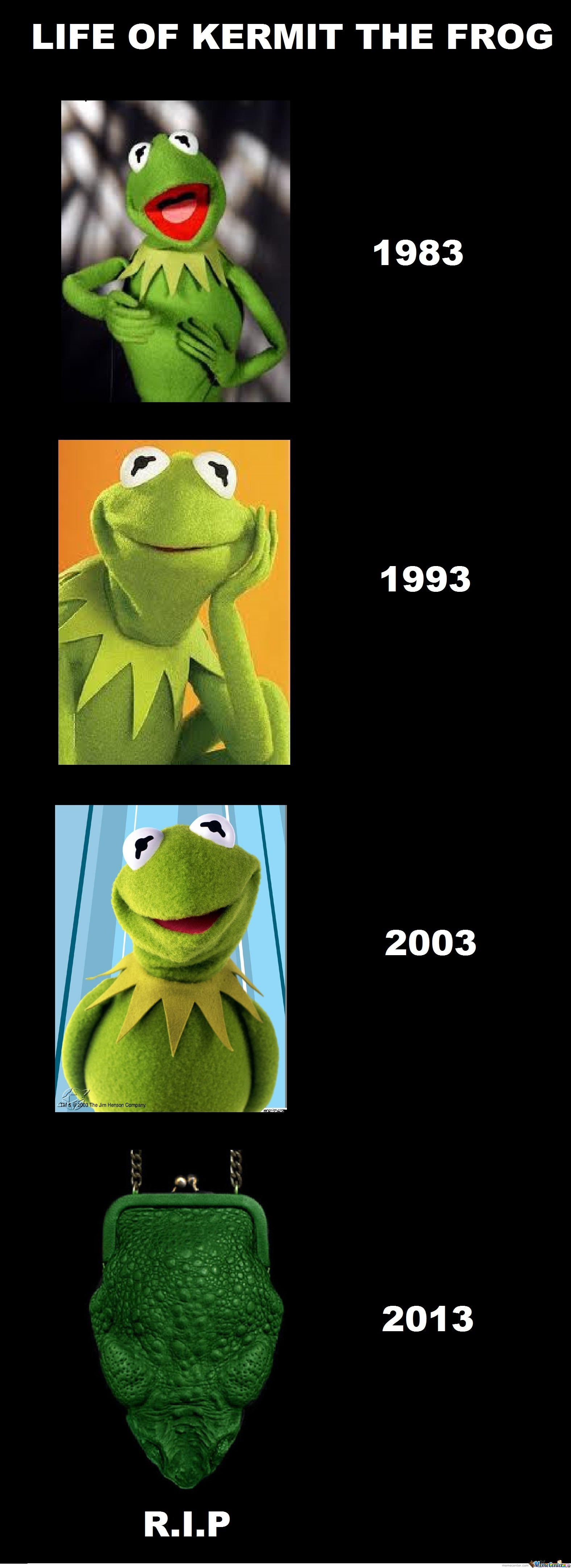 Kermit the frog face