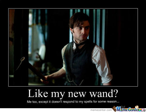 Like My New Wand?