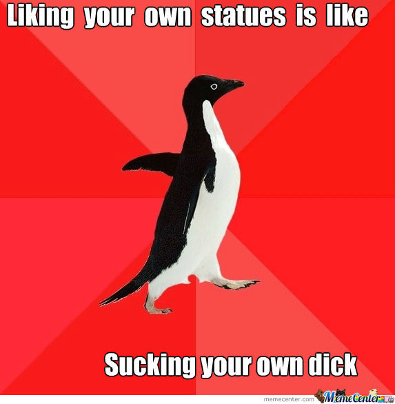 Liking Your Statues