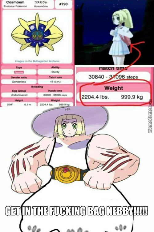 Lillie Is The Strongest Trainer In Earth Tbh