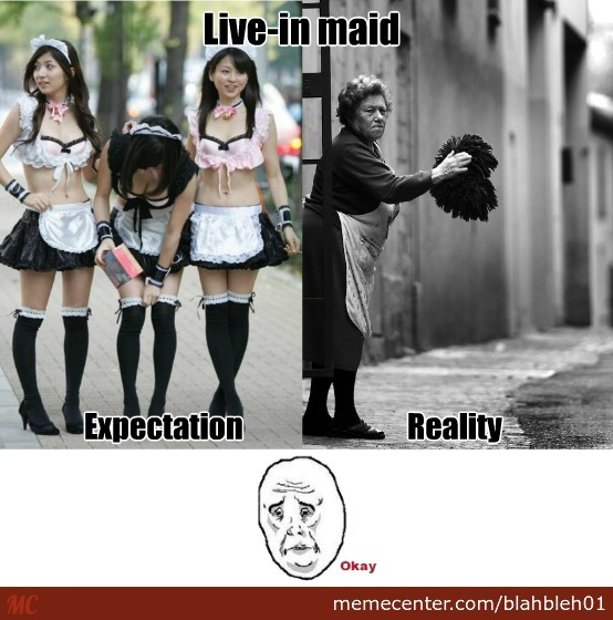 live in maids with benefits