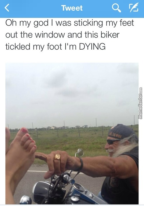 Live To Ride And Tickle