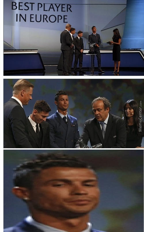 Lmfao Ronaldos Face Is Hilarious