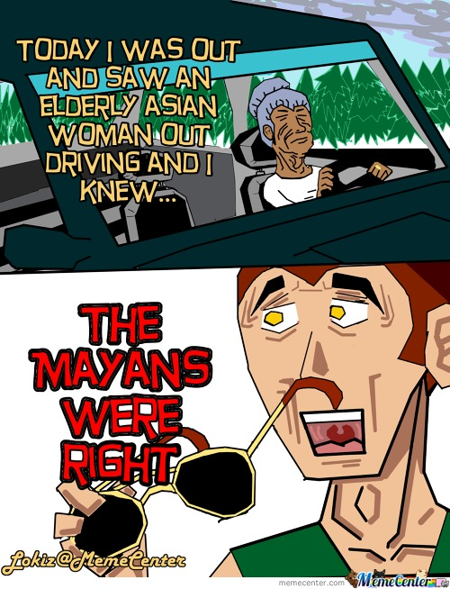 Lokiz Comics 5- Silly Mayans