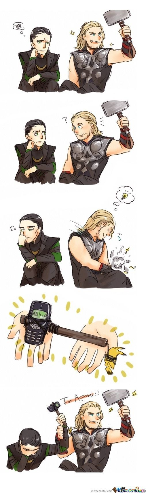 Lol, For Asgard!