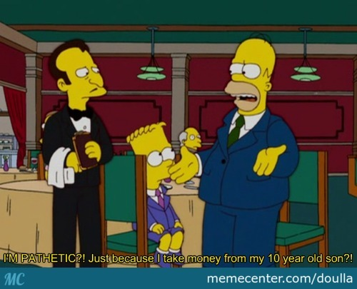 Lol, Just Homer Being Homer