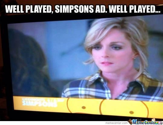 Lol Simpsons' Ad Lol