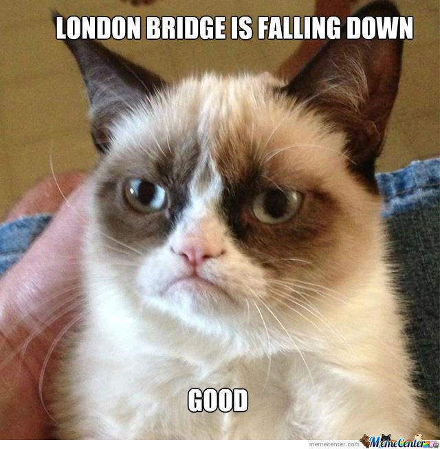 London Bridge Has A Cat