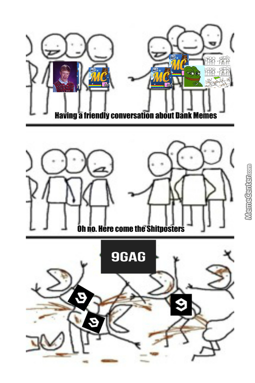 Long Ago, Internet Memes Lived Together In Harmony. Then Everything Changed When The 9Fag Army Attacked