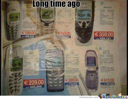 Long Time Ago Thi Phones Were Like Iphone5