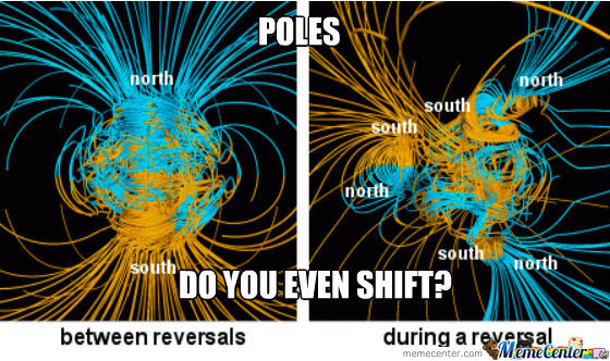 Look Up Polar Shift