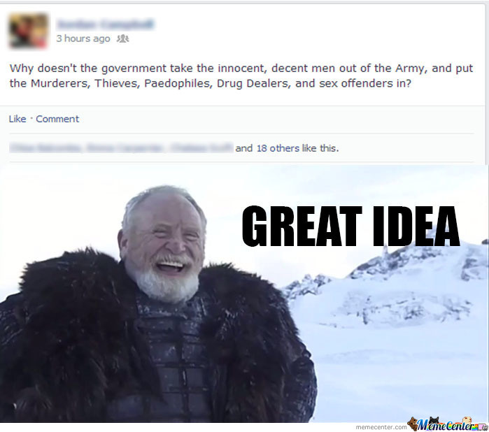 Lord Commander Mormont Agrees