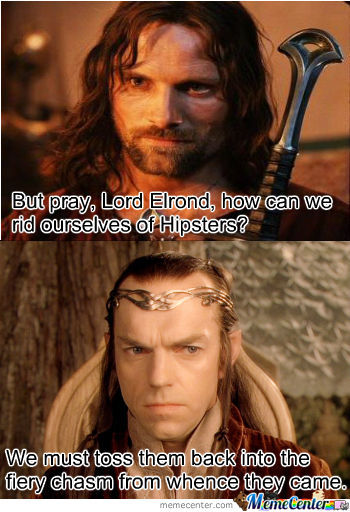Lord Elrond Has Spoken.