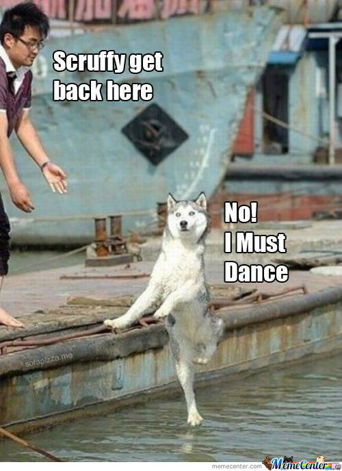 Lord Of The Dance Jesus Dog Style
