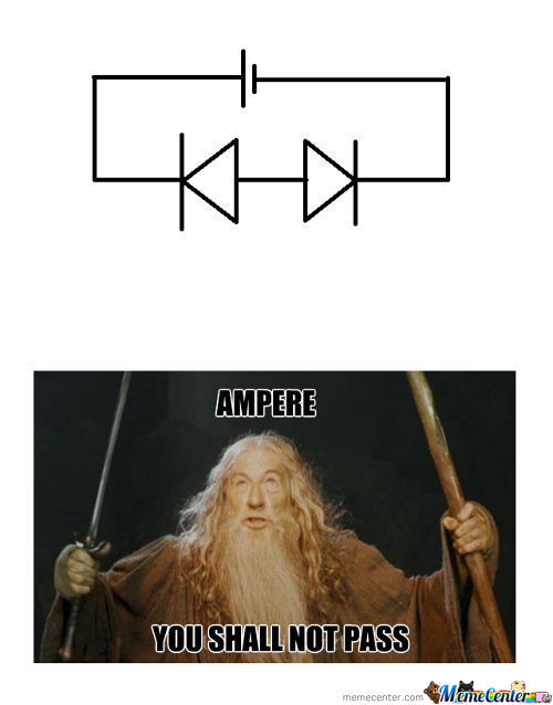 Lord Of The Ring: The Two Diodes