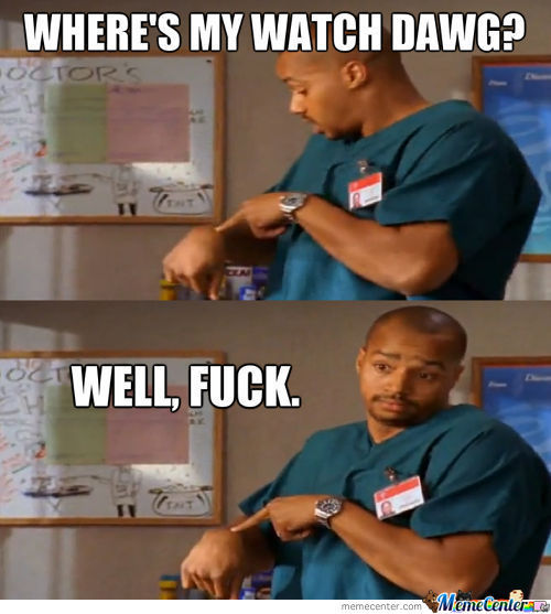 Lost Watch, Turk Is Mad