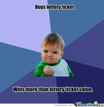 Lottery Ticket Win