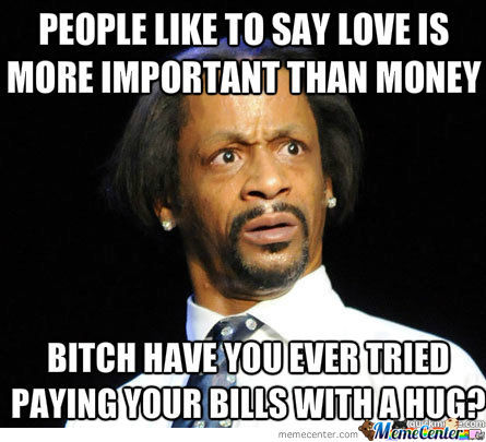 Love Can't Pay The Bills