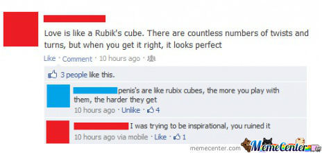 Love Is Like A Rubik's Cube...