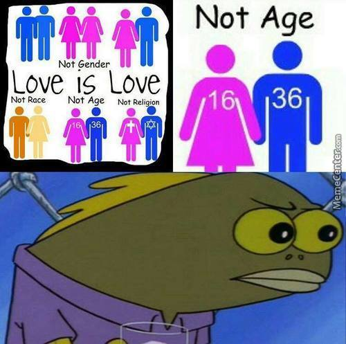 "Love Is Love. Not Gender, Not Even Species! Right? Admin? Thats The ""equality"""