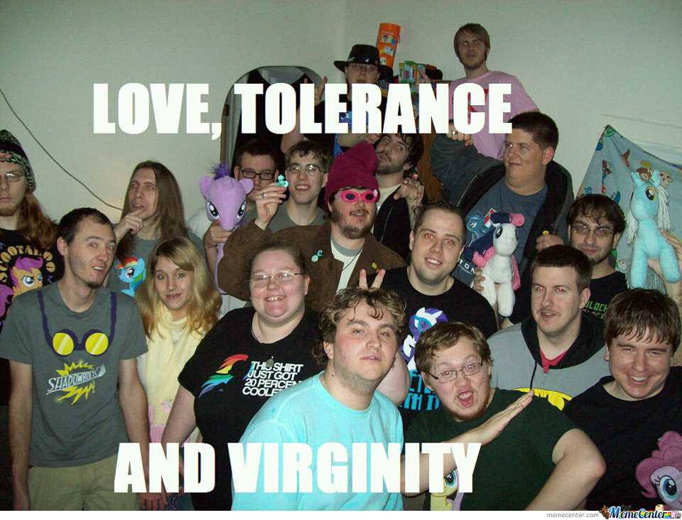 Love, Tolerance And Virginity!