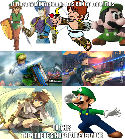 Luigi > Rest Of These Characters