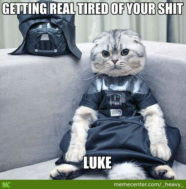 Luke, I Don't Care