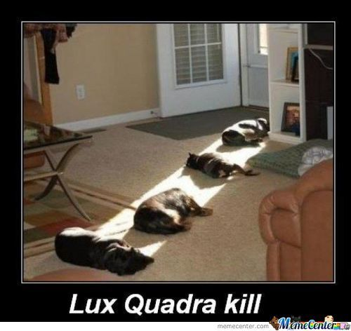 Lux Quadra Kill