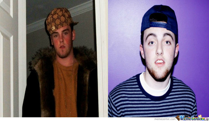 Mac Miller Is Scumbag Steve
