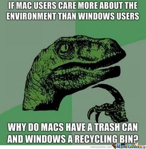 Mac Vs. Pc Users