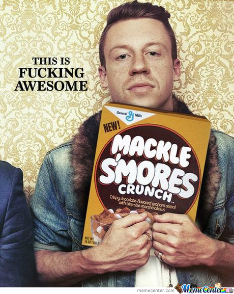 Macklemore Mackle S'mores Only .99C
