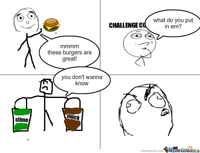 (Made By My Sister) Mc. Donalds 'fresh' Burgers