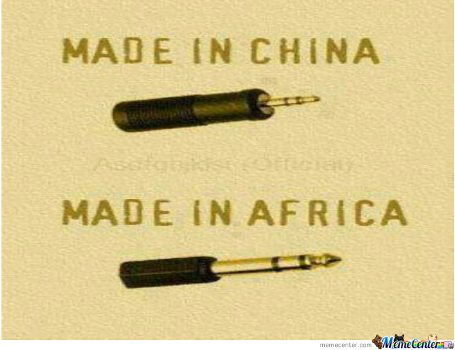 Made In China Vs. Made In Africa