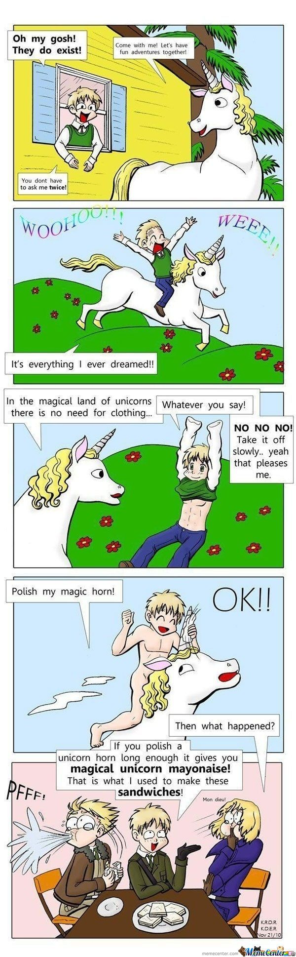 Magical Unicorn Mayonaise