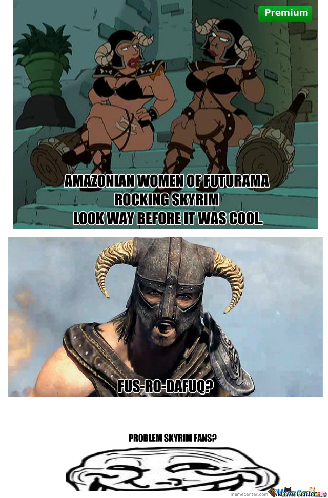 Mainstream Skyrim