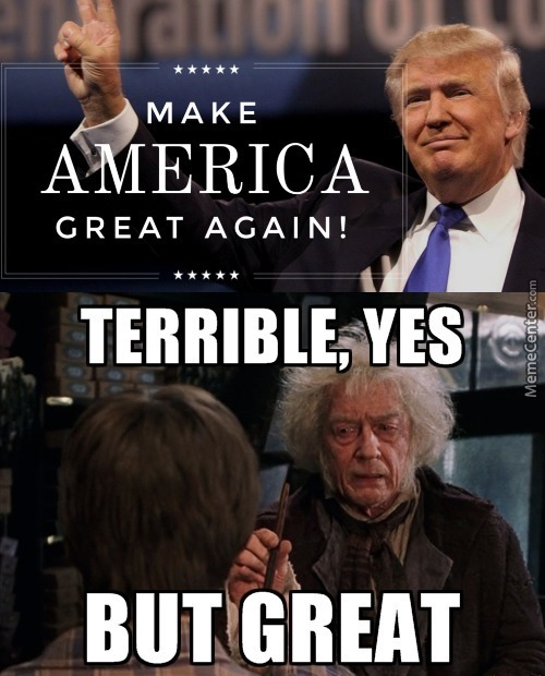 Make America Terrible Again
