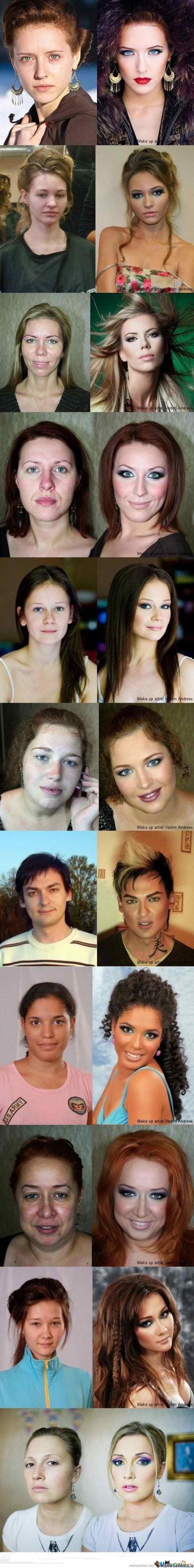 make up lvl:99