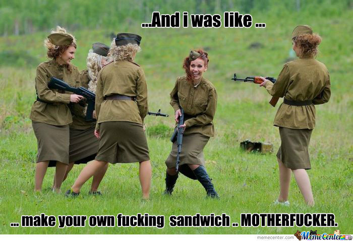 Make Your Sandwich ..