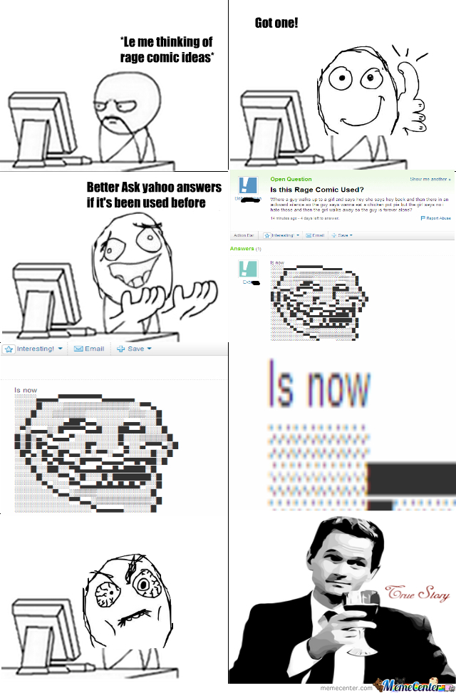 Making A Rage Comic