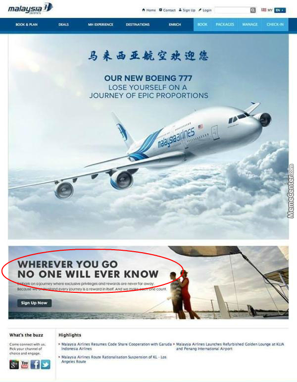 Malaysian Airlines Ad