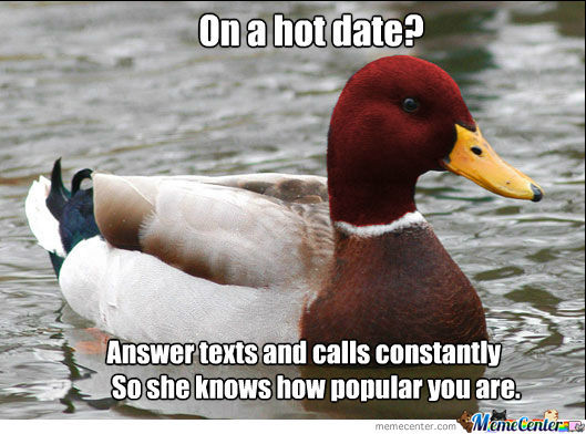 Malicious Advice Duck Strikes Again!