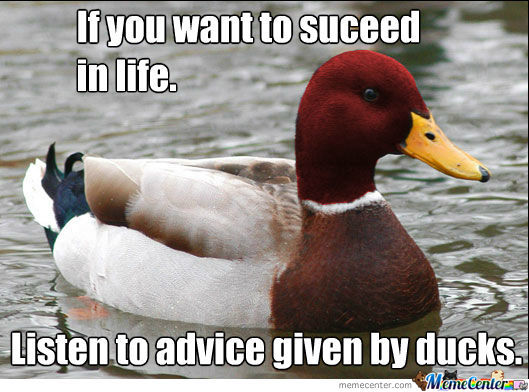 Malicious Advice Duck