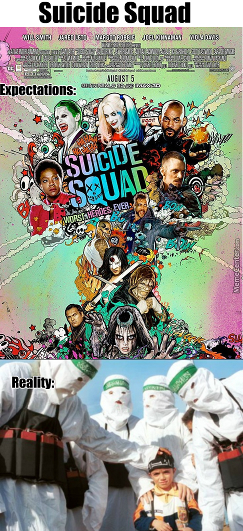 Man Seriously. Can Anyone Else Imagine A Real Suicide Squad Compose Of: Adolf Hitler, Osama Bin Ladden, Vlad The Impaler,  And Fidel Castro ?